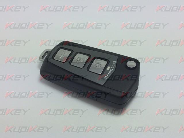 Hyundai 3 кнопки корпус выкидного ключа с пластиковыми кнопками [hyn-k32]
